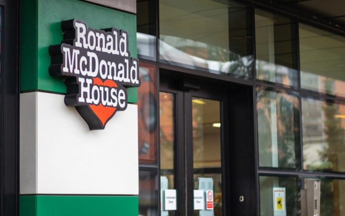 Ronald McDonald House for Sick Children Attacked by Rioters
