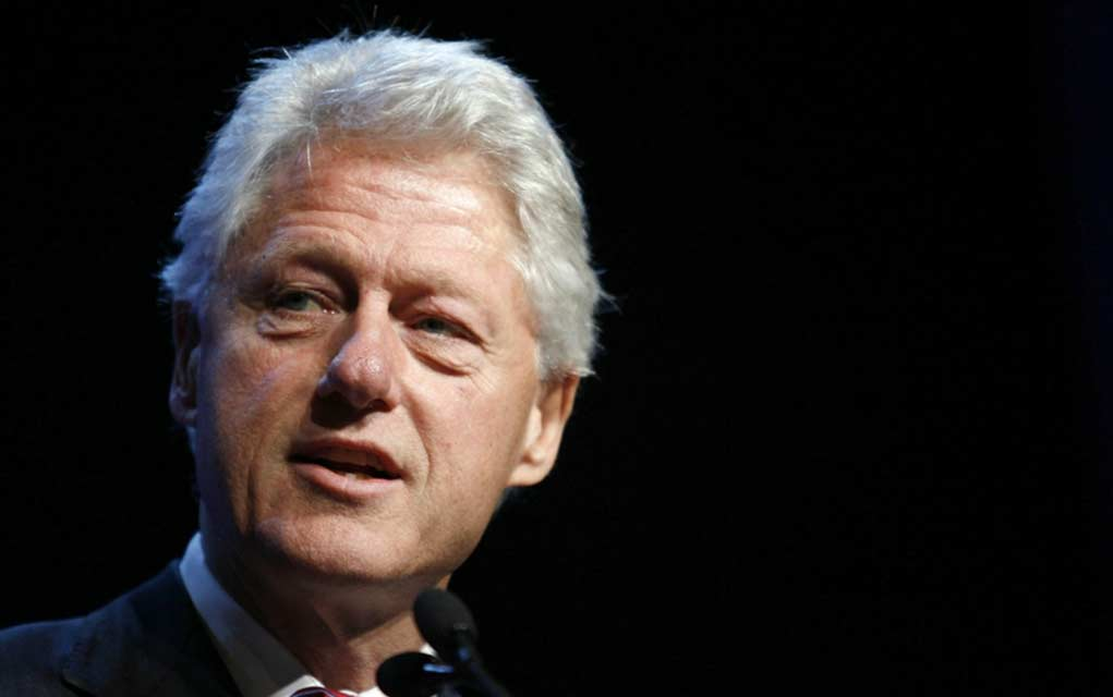 "REPORT: Bill Clinton Reportedly Met Ghislaine Maxwell In ""Secret"" In 2014"