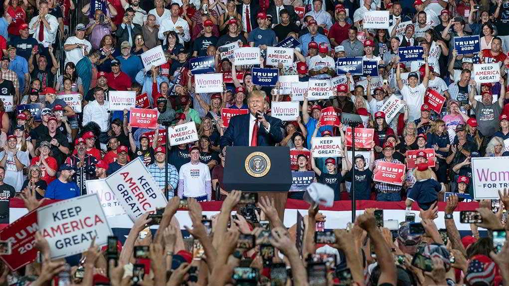 "Ilhan Omar Calls Trump Rallies ""Klan"" Rallies"