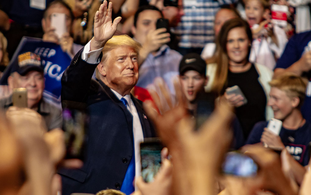 Trump to Hold Second Rally for Georgia Senators Loeffler and Perdue on January 4th