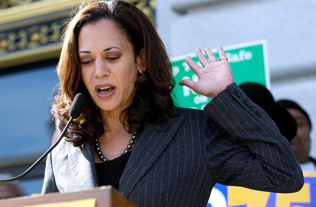 Kamala Harris Takes Over Discussions With Norway