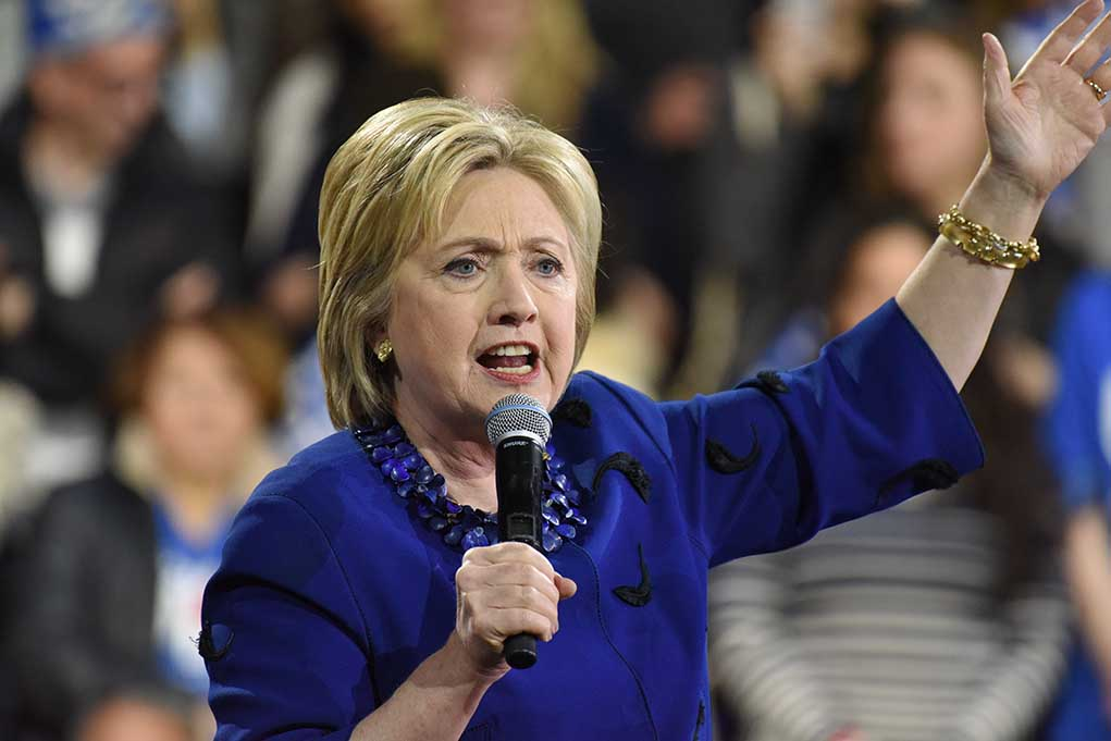 Hillary Clinton Requests Filibuster to Be Lifted