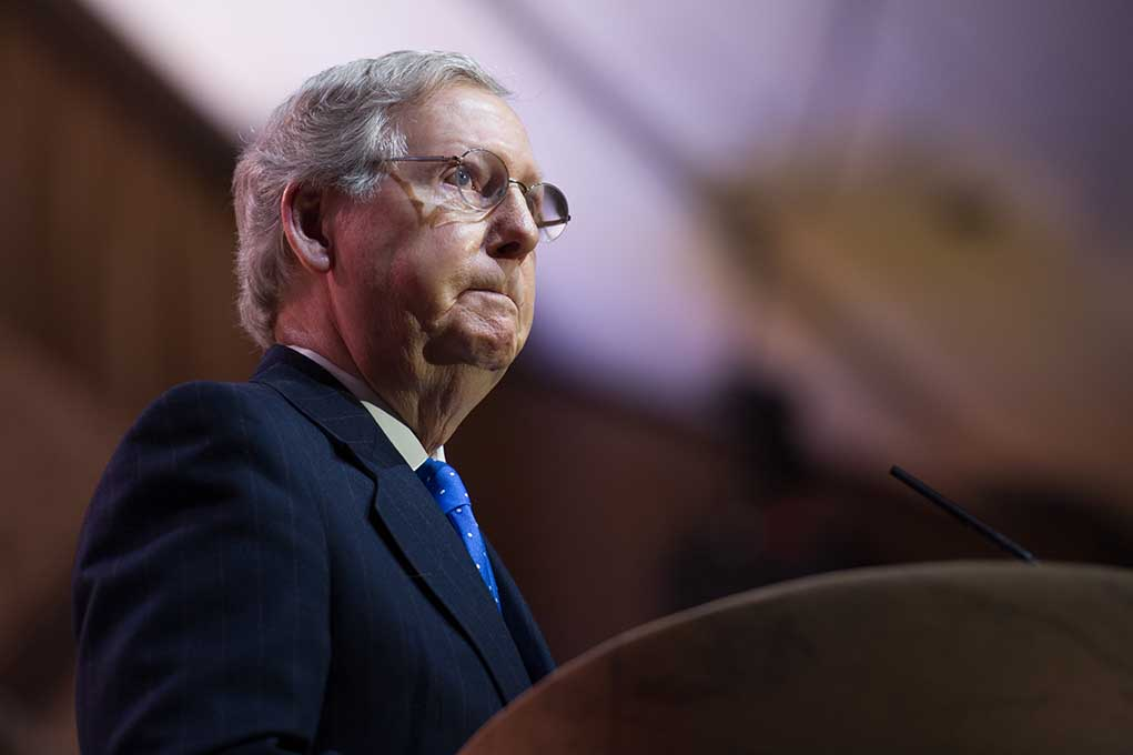 Mitch McConnell Warns CEOs About Cancel Culture