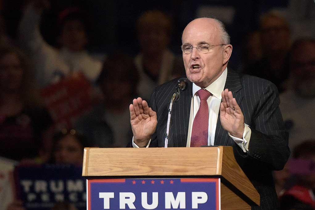 Rudy Giuliani Targeted Again for Defending Trump