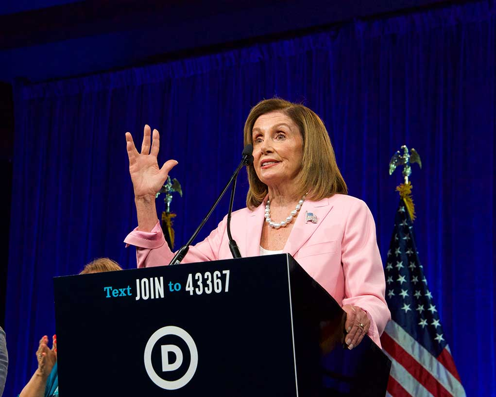 Trump Says We're Going to Finally Get Rid of Nancy Pelosi
