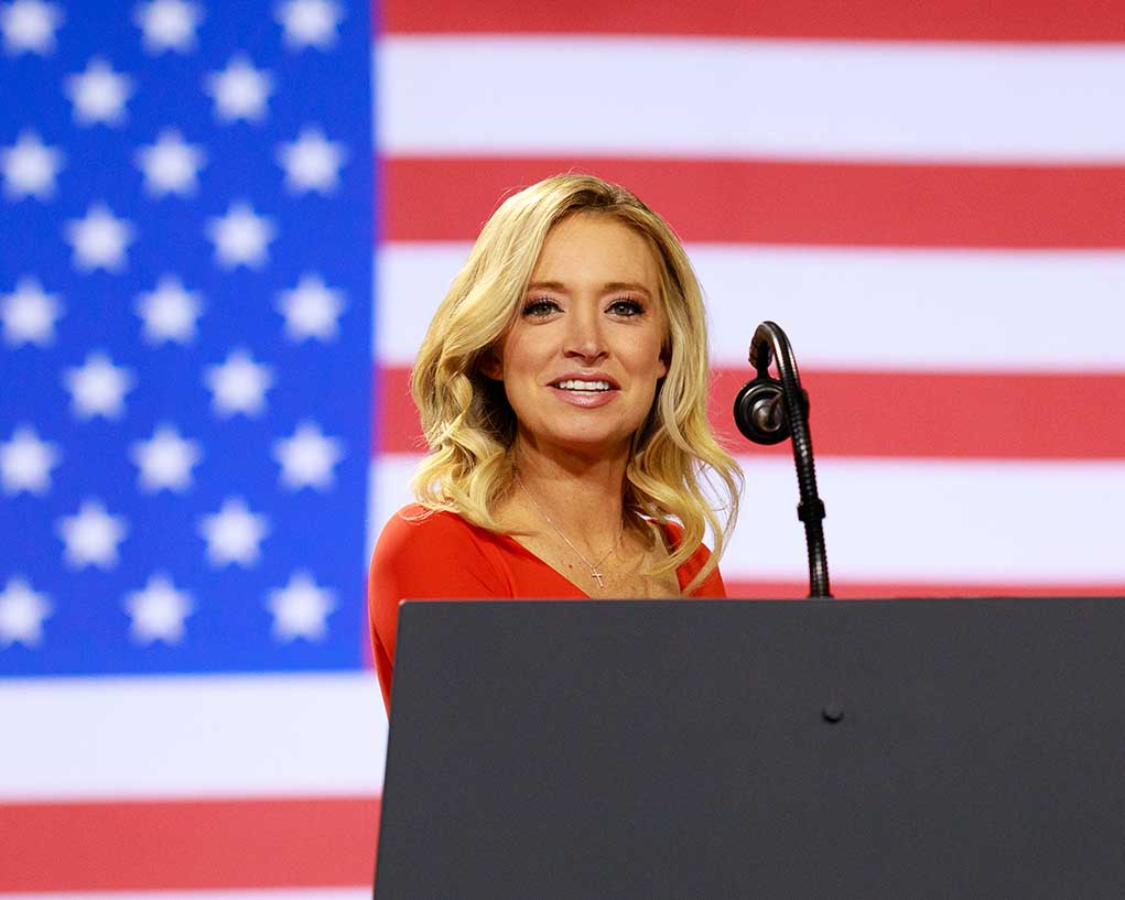 Kayleigh McEnany Reveals How She Made it Through Her Time as Press Secretary