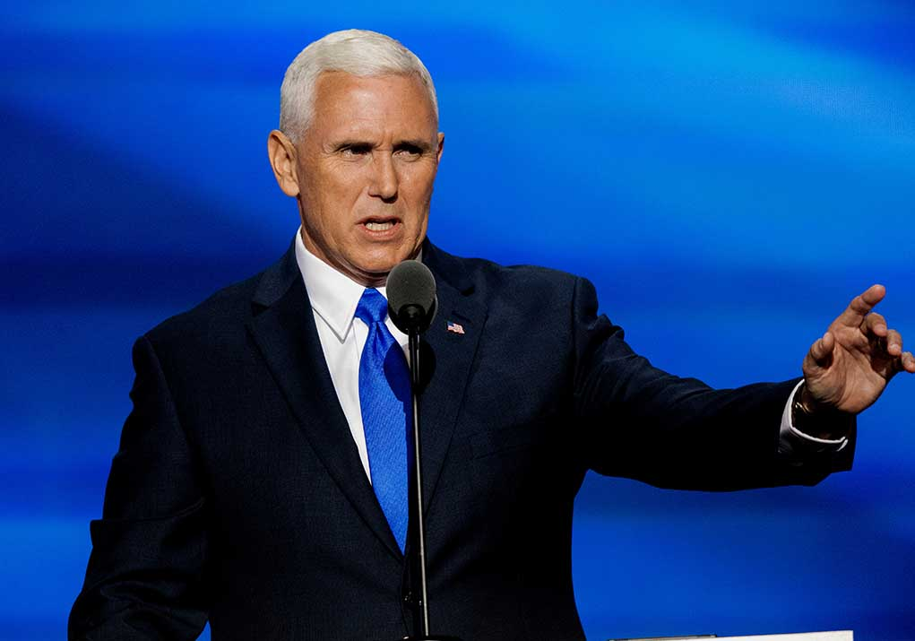 Mike Pence Says