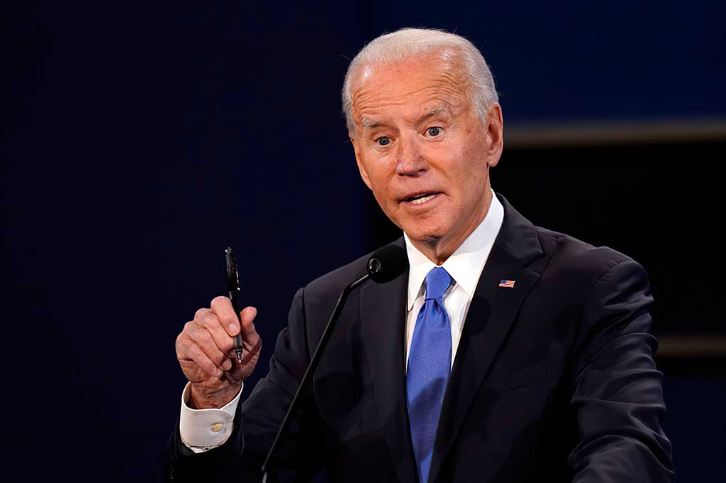 Leaked Texts Reveal Joe Biden's Secret Past