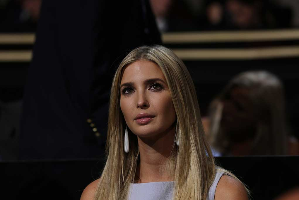 Trump's Daughter Steps Forward to Help With Florida Tragedy
