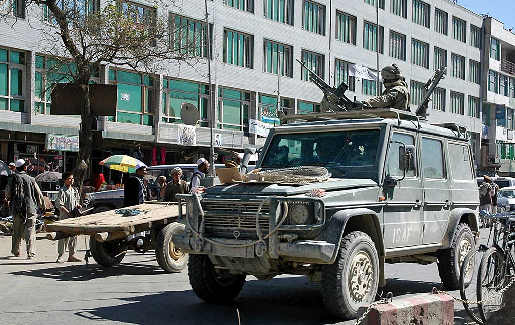Afghan Troops Move to Block Taliban as Attacks Intensify
