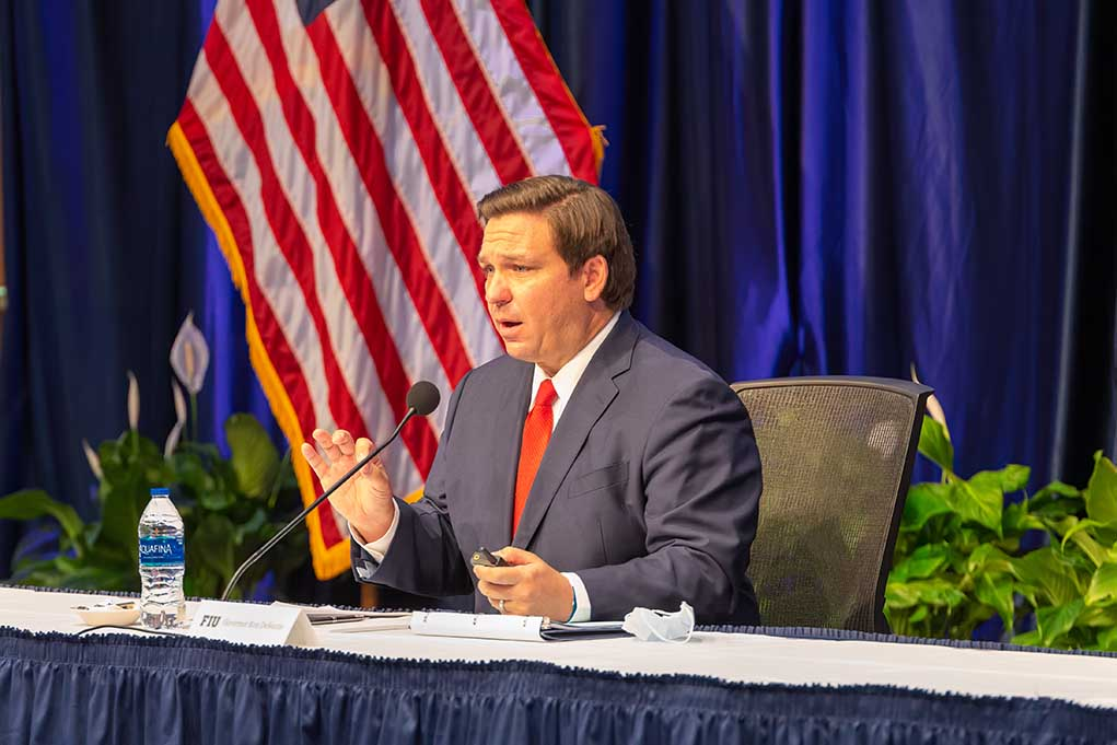 Ron DeSantis Says New York Nursing Home Deaths Could Have Been Stopped If Liberals Cared